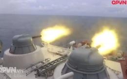 Vũ khí trên tàu Molniya Việt Nam xé nát mục tiêu