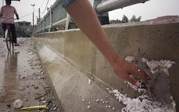 Thực hư cầu 65 tỉ tại Hà Nội xây bằng 'bê tông cốt xốp'