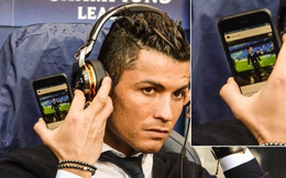 Cris Ronaldo làm gì khi không thể ra sân cho Real?