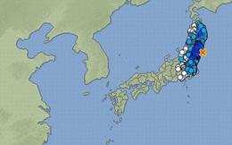 Động đất 6,1 độ richter gần Fukushima