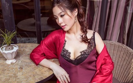 Á hậu Diễm Trang khoe vẻ gợi cảm trước ngày sinh nở