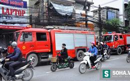 Bàng hoàng phát hiện khói lửa nghi ngút khi đang đi đường