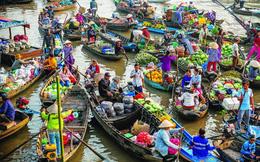 Về Miền Tây ngắm bình minh sông Hậu, tham quan chợ nổi Cái Răng