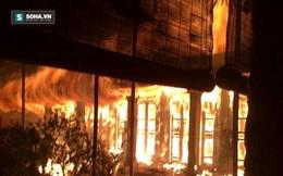 Xác định nguyên nhân ban đầu vụ cháy chùa cổ từ thế kỷ 16 ở Hà Nội