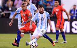 Messi sút hỏng 11m, Argentina đau đớn mất chức vô địch về Chile