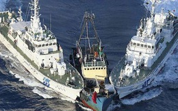 Bốn tàu hải cảnh Trung Quốc lại nghênh ngang xâm nhập lãnh hải Nhật Bản