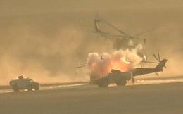 Trực thăng Mi-35M của Nga bị phá hủy gần Palmyra