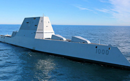 Chiến hạm Mỹ khẳng định đẳng cấp trước khu trục hạm Leader