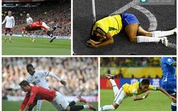 """CLIP: """"Quái chiêu hộ thân"""" của Ronaldo, Neymar"""