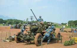 Giao nhiệm vụ cho lực lượng tham gia diễn tập, hội thao, bắn đạn thật PPK 57mm năm 2016