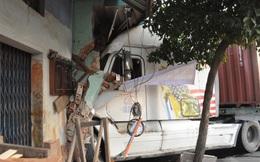 Tài xế container ngủ gật gây tai nạn kinh hoàng
