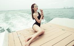 Diệp Bảo Ngọc khoe vòng eo 58cm với bikini nóng bỏng