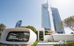 Dubai: Văn phòng in 3D đầu tiên trên thế giới, xây trong 17 ngày, giá bằng một nửa nhà thường
