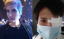 Nữ người mẫu cao nhất Việt Nam nhập viện vì mất thị lực