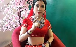 Long Nhật quá xinh đẹp khi giả gái Ấn Độ