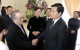 Bí thư Đinh La Thăng cùng lãnh đạo TP.HCM viếng lãnh tụ Fidel Castro
