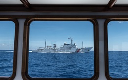 Tàu cảnh sát biển Trung Quốc vẫn ở bãi cạn Scarborough chứ chưa rút