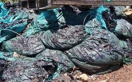 Phát hiện thêm bãi rác thải Formosa trong trang trại người dân