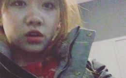 Hari Won quay clip lẻ loi giữa giá lạnh Hàn Quốc