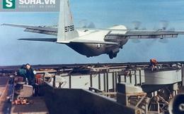 Chiếc phi cơ lớn nhất từng cất hạ cánh thành công trên tàu sân bay