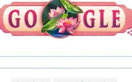 Google thay logo hình quốc hoa của VN chào mừng Quốc khánh 2/9