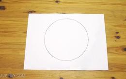 Đây là thủ thuật vô cùng đơn giản giúp bạn vẽ 1 đường tròn hoản hảo bằng tay, không cần tới compa