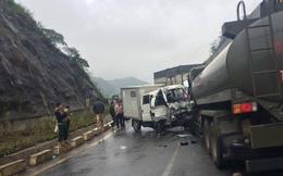 Xe chuyên dụng của công an đâm xe quân đội, 5 chiến sỹ bị thương, 1 nghi phạm tử vong