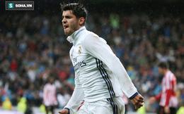 Trong ngày vui của Real Madrid, Morata đi vào lịch sử bóng đá