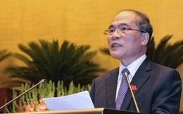 """Ông Nguyễn Sinh Hùng nói về người kế nhiệm: """"Hậu sinh khả uý"""""""