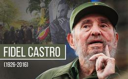Việt Nam tổ chức Quốc tang tưởng nhớ lãnh tụ Cuba Fidel Castro