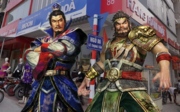 Trương Phi bị Tào Tháo đuổi ở phố kiểu mẫu Lê Trọng Tấn