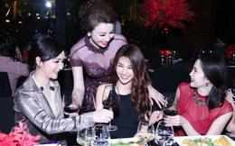 Dàn sao nổi tiếng mở tiệc mừng Vũ Thúy Nga thành Hoa hậu