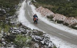 Hàng loạt nơi nữa xuất hiện mưa tuyết, băng giá ở Việt Nam