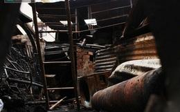 Hiện trường vụ hỏa hoạn khiến 4 người trong gia đình thiệt mạng