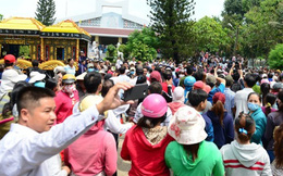 Linh cữu Minh Thuận được hỏa táng
