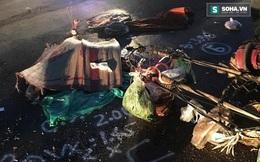 Xe tải cán nát người phụ nữ bán rau trong đêm rồi bỏ chạy
