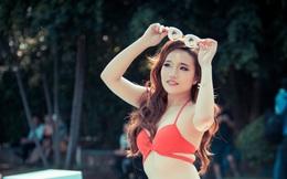 Nữ sinh Ngoại thương chụp ảnh bikini bị chê tạo dáng thô, béo