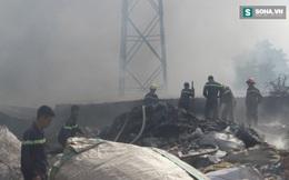 Cháy lớn ở xưởng chứa phế liệu tại tỉnh Bình Dương