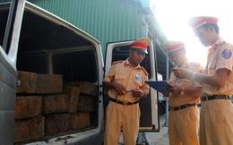 Quảng Nam: Giả là xe tang để vận chuyển gỗ lậu