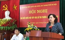 Cử tri hỏi chuyện đất đai nhưng... Chủ tịch quận Thanh Xuân vắng mặt