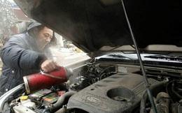 Sapa: Nhiều xe ô tô không nổ máy được vì dầu bị đóng băng