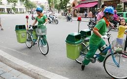 Hà Nội thí điểm mô hình xe đạp dọn rác