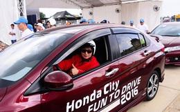 Honda City tổ chức chương trình lái thử ô tô trên đường đua chuyên nghiệp