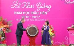 Giáo sư Ngô Bảo Châu dạy tiết học đầu tiên của trường TH School