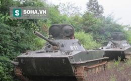 Xe tăng thiết giáp của Lào tác chiến cũng không hề kém!