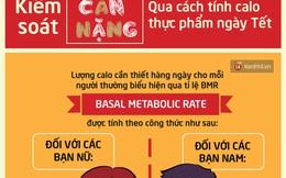 Kiểm soát cân nặng qua cách tính calo thực phẩm ngày tết
