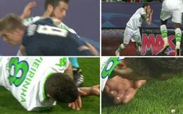 CLIP: Sao Real Madrid vung cùi chỏ gãy răng đối thủ