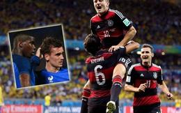 """Tự tin ngất trời, Pháp sẽ bị Đức """"tát 7 cái"""" như Brazil?"""