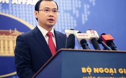 Việt Nam phản đối PCT Quân ủy TƯ TQ thăm trái phép Trường Sa