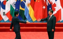 G20: Tập Cận Bình-Shinzo Abe lần đầu hội đàm sau hơn 1 năm căng thẳng